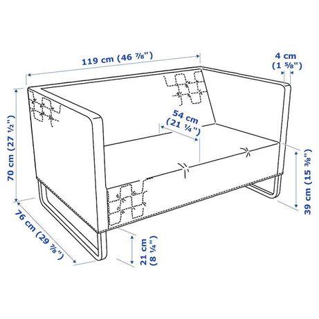 Sofá Ikea cinzento
