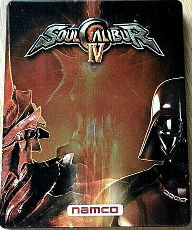 SoulCalibur IV 4 - PS3 - SteelBook - Soundrack - jak NOWA