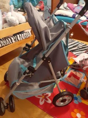 3 wózki  dla lalek