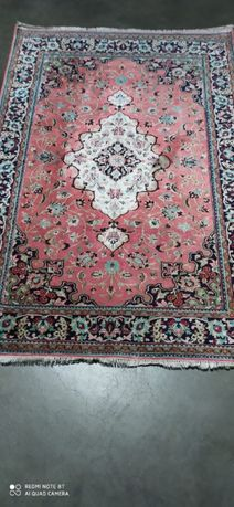 Qom, Qum, Ghom, Ghum dywan Perski ręcznie tkany jedwab