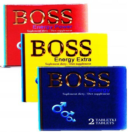 Boss Energy Ginseng tabletki na wzwód erekcję potencję
