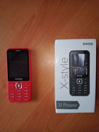 Sigma X-stile 31 Power