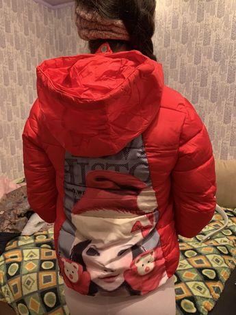 Курточка на девочку зима, холодная осень