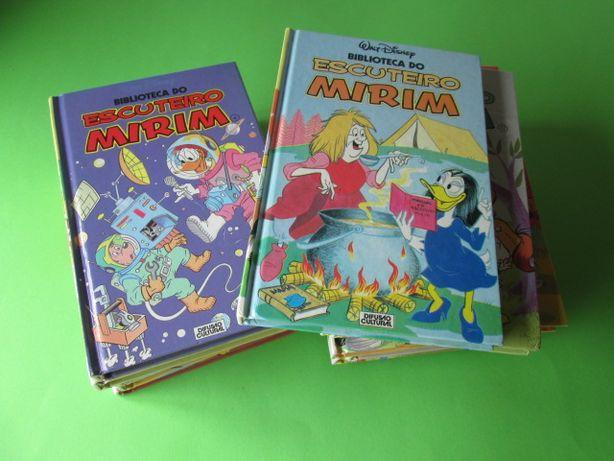 Lote 14 Livros da Colecção Biblioteca Escuteiro Mirim Antigos