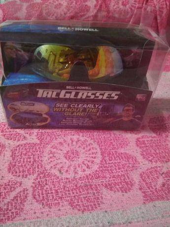 Солнцезащитные поляризованные антибликовые очки Bell Howell Tac Glasse