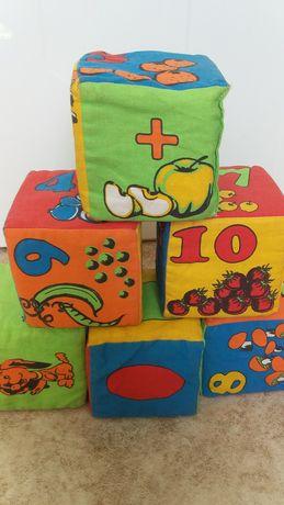 Продам детские развивающие кубики
