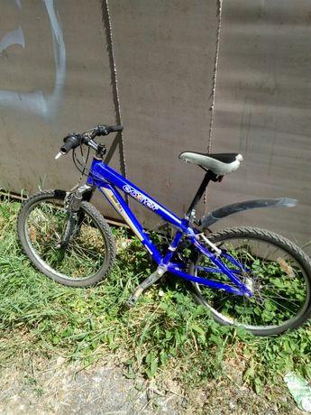 Фирменный горный подростковый велосипед LEADER FOX 24 дюйма