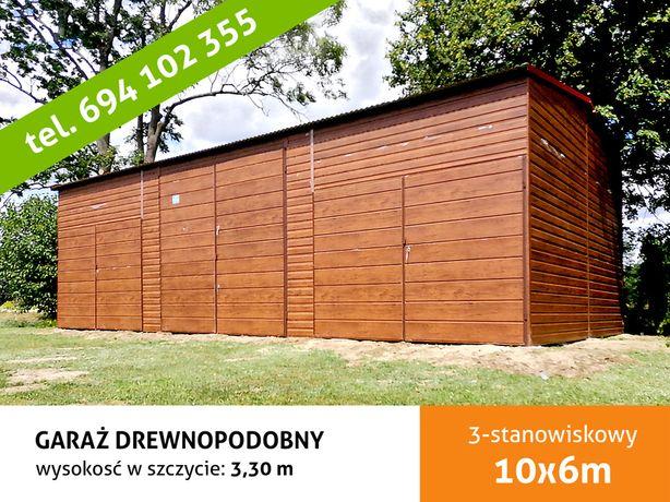 Garaż Blaszany 10x6m , hala magazynowa , wiata , wiaty , garaże ,