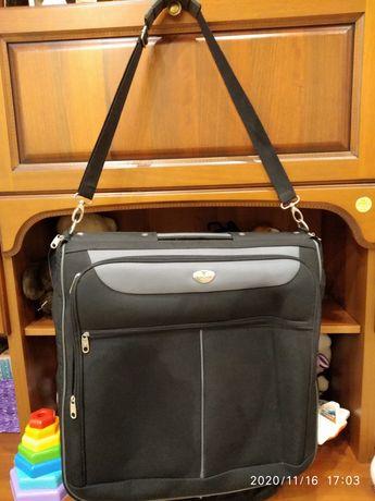 Портплед (сумка для костюмов, пиджаков)