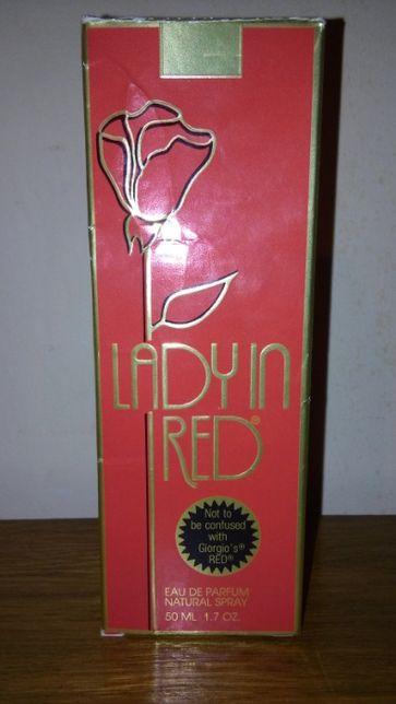 Духи Lady ln Red винтаж.