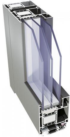 Drzwi aluminiowe ciepłe SUPERIAL 1800 x 2100