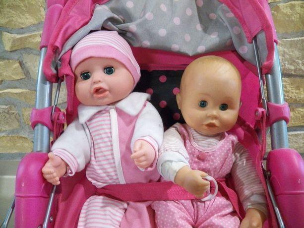 Wózek dla lalki Baby Mix z lalkami.