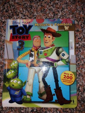 Livro Disney Toy Story (mistura e combina)