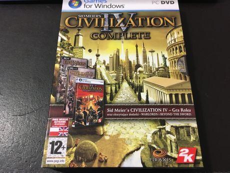 gra Civilization 4 (PC dvd)
