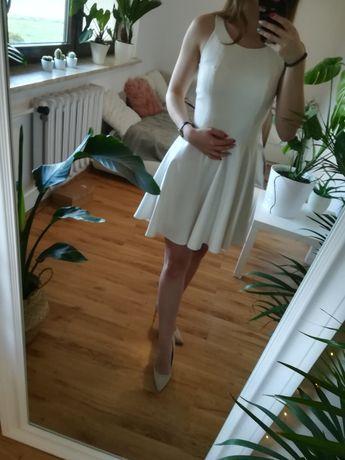 Sukienka biała/ ecru