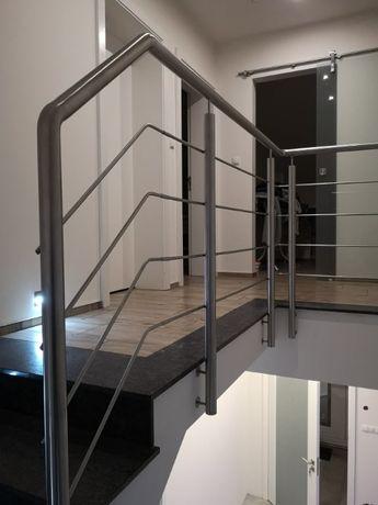 Schody balustrady zabezpieczenia okienne taras STAL NIERDZEWNA tanio