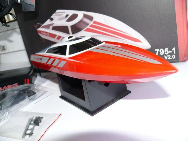 Катер VOLANTEXRC 795-1 радиоуправляемый, длина 28 см, скорость 25 км/ч