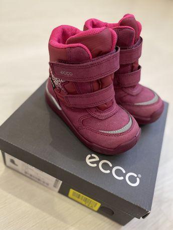 Зимние ботиночки для девочки Ecco urban mini 22 размер