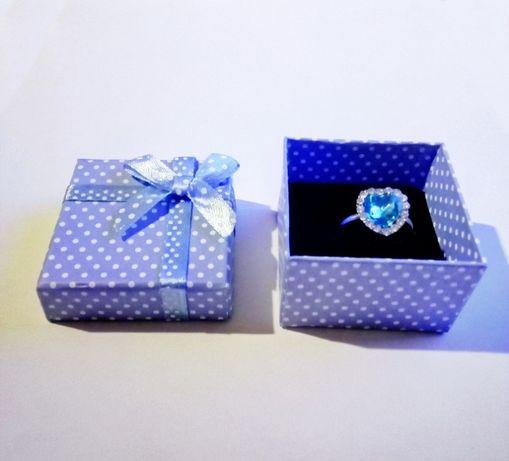 Кольцо сердце океана на подарок