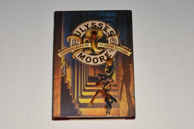 Książka Ulysses Moore (zeszyt drugi) Antykwariat Ze Starymi Mapami