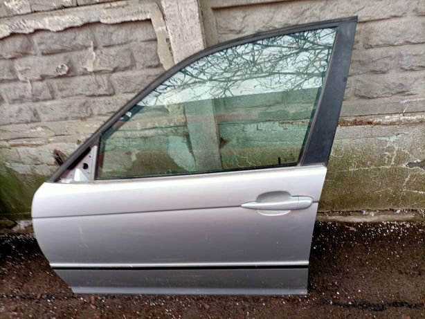 Bmw e46 sedan kombi drzwi przednie lewe titansilber