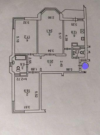 Продажа 3к видовой квартиры в ЖК Троещина