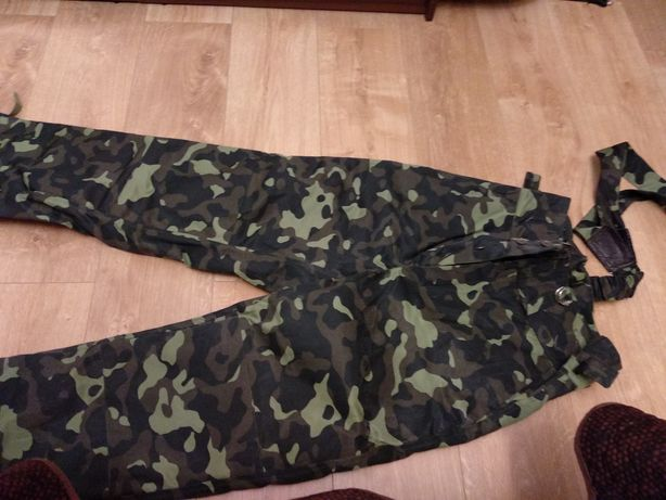 Продам комуфльовані теплі штани