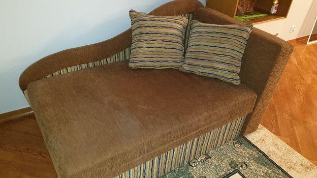Mały narożnik / fotel rozkładany