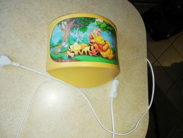 Lampka nocna kinkiet Kubuś Puchatek Disney