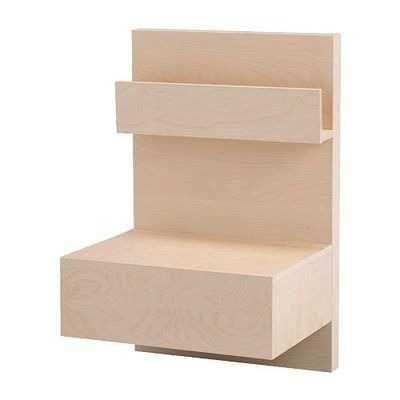 2 mesas de cabeceira MALM
