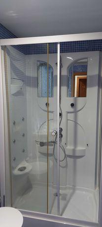 Cabine de duche com hidromassagem