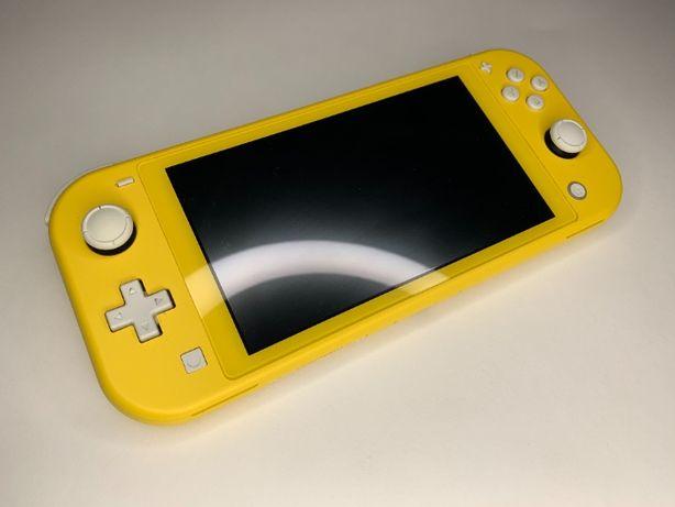Nintendo switch lite yellow жёлтый оригинал полный комплект