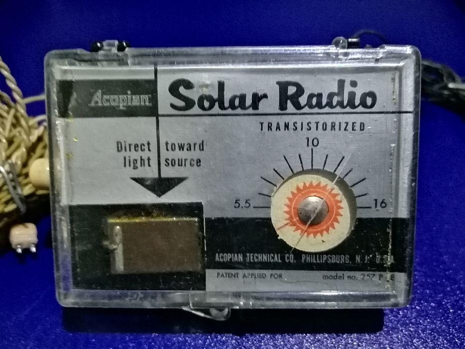 Radio solarne 1954r. Środa Wielkopolska - image 1