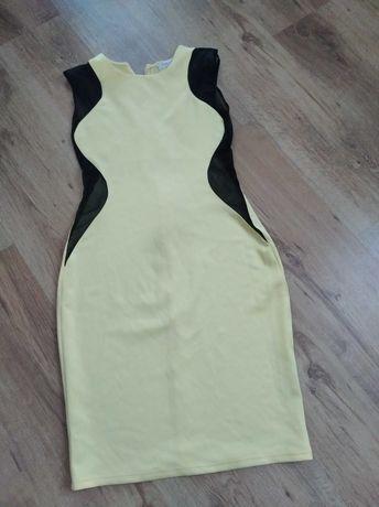 Żółta , letnia sukienka