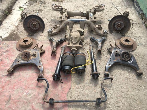 Балка, рычаги, стойки, супорта, ступицы, радиаторы Range Rover L322