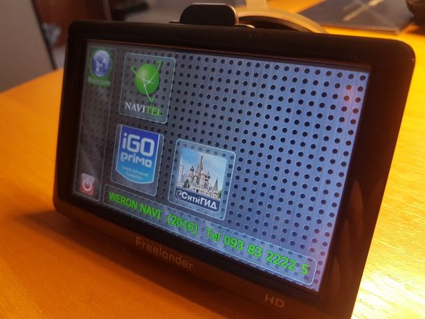 GPS навигатор 5'' Freelander 5034 HD 4Gb