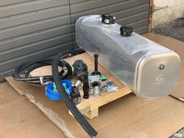 Гидравлика на тягач с баком закабину