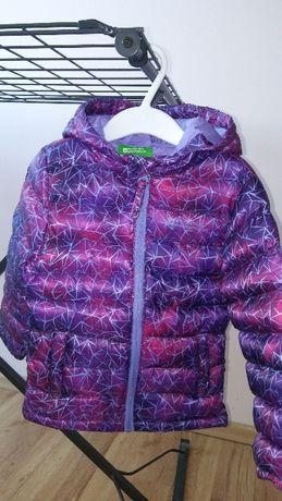 Nowa kurtka Mountain Warehaus jesienno-wiosenna 92 dla dziewczynki