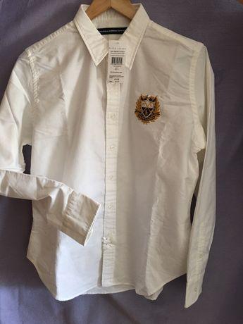Koszula,bluzka biala ,marki Ralph Lauren,rozmiar L, (14)