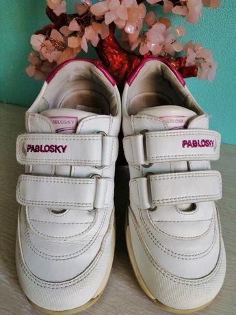 Кожаные кроссовки Pablosky