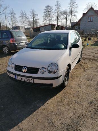 VW POLO IV 1.2 Biały