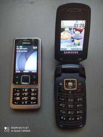 Nokia 6300, Samsung SGH-E380 в хорошем рабочем состоянии.
