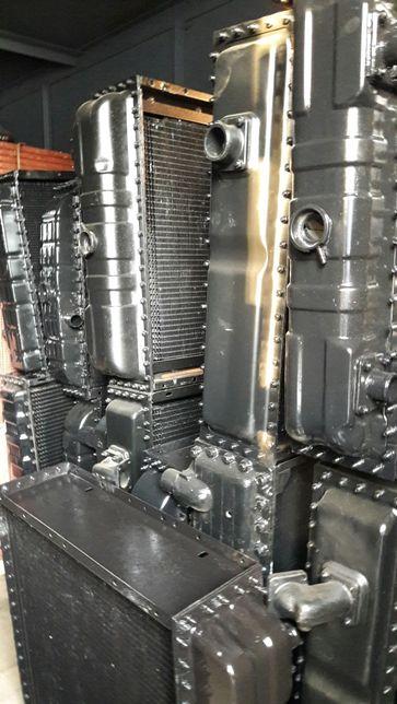 Радиатор Радіатор медь МТЗ ЮМЗ ДТ ЗиЛ Т-130 Т-150 ЯМЗ СМД Газ-53 Краз
