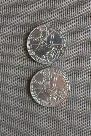 02 Moedas comemorativas 100$00 níquel 1990 Naveg. Astron. BELA/SOB