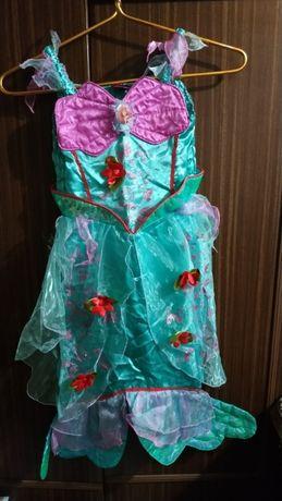 Детский карнавальный костюм принцессы-русалочки Ариэль Disney