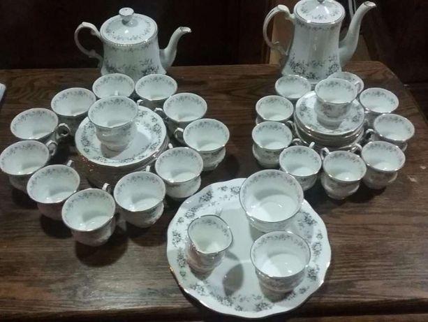 Serviço Chá / Café - Elizabethan Chantilly Fine Bone China