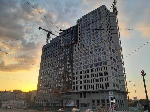 3к квартира в новострое у метро Защитников