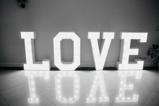 Podświetlany napis LOVE sprzedam