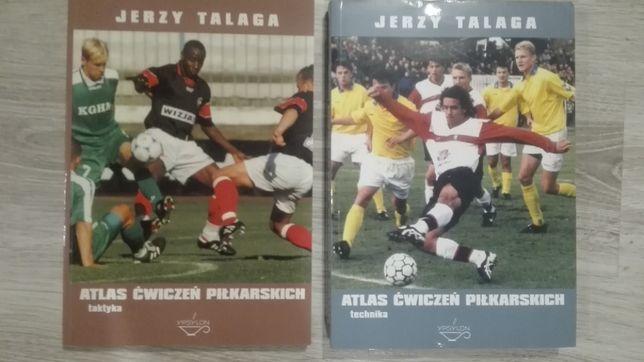Talaga Atlas ćwiczeń piłkarskich taktyka, technika 2 części, gratisy