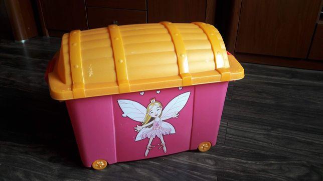 Skrzynia pojemnik na zabawki kufer pirata